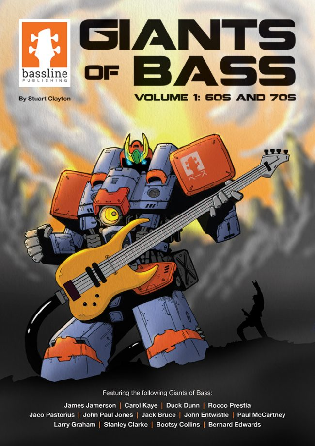 Front cover of Giants of Bass- Volume 1