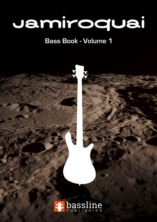 Front cover of The Jamiroquai Bass Book