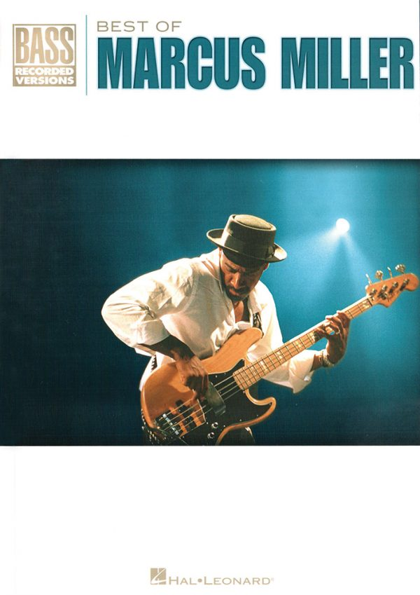 Front cover of Best of Marcus Miller book