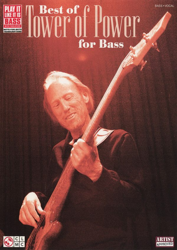 Front cover of Best of Tower of Power for Bass book