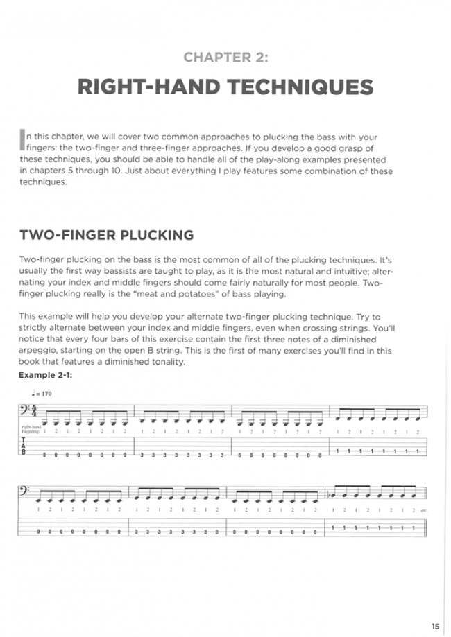 Sample page from Extreme Metal Bass