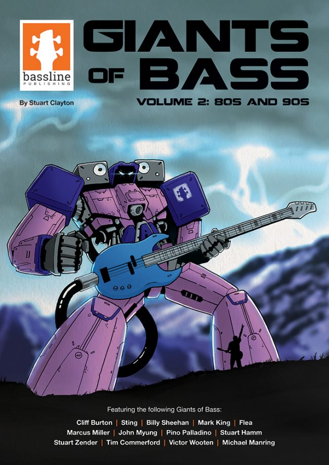 Front cover of Giants of Bass - Volume 2