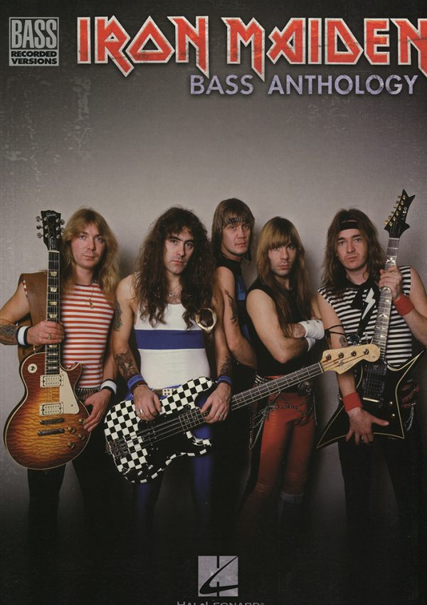 Front cover of Iron Maiden Bass Anthology book