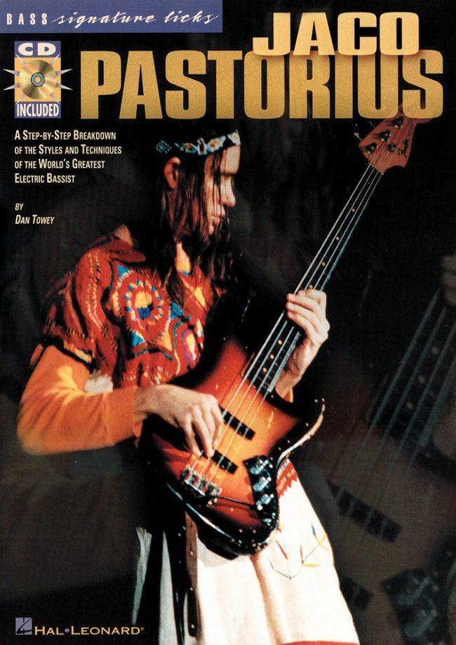 Jaco Pastorius - Signature Licks - Front Cover