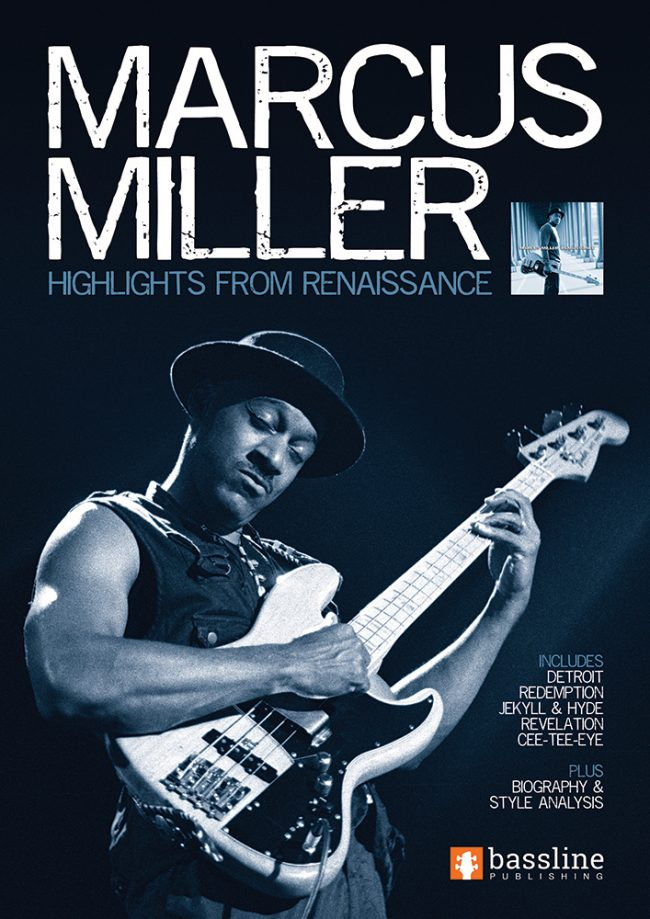 Front cover of Marcus Miller - Highlights from Renaissance book