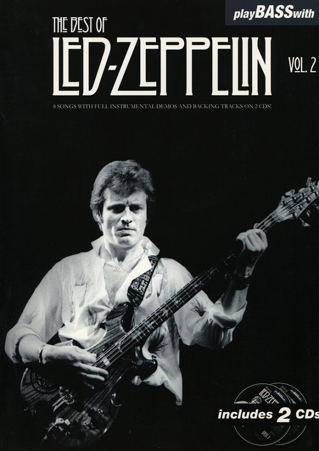 Front cover of Play Bass with Led Zeppelin Volume 2