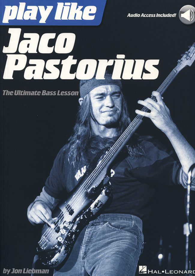 Front cover of Play Like Jaco Pastorius book