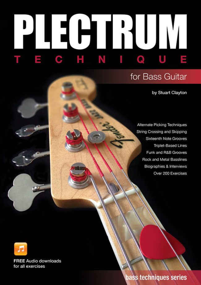 Front cover of Plectrum Technique for Bass Guitar book