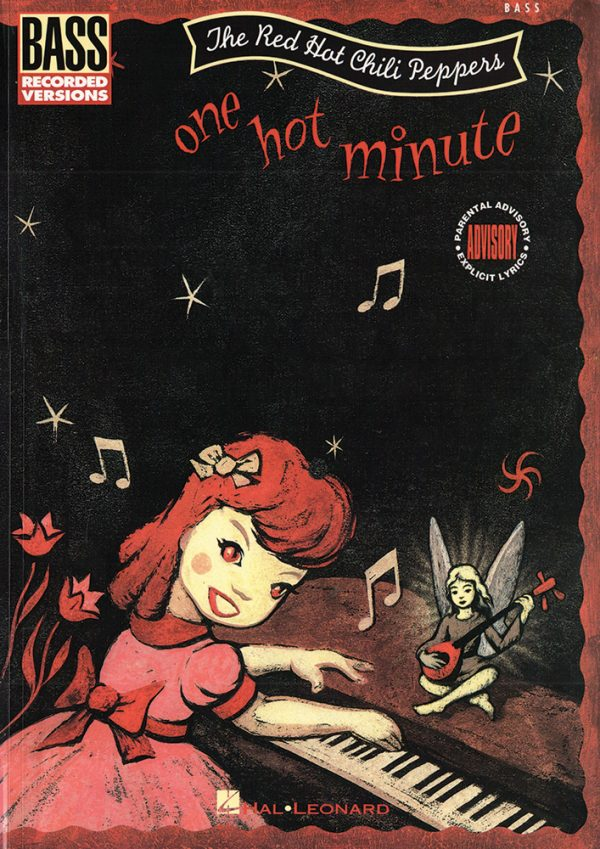 Front cover of Red Hot Chili Peppers - One Hot Minute bass transcription book