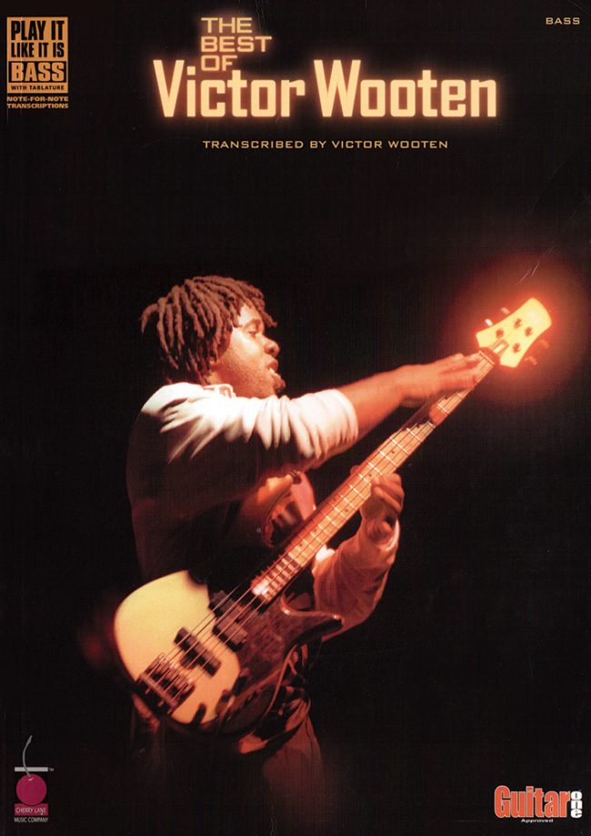 Front cover of The Best of Victor Wooten bass transcriptions book