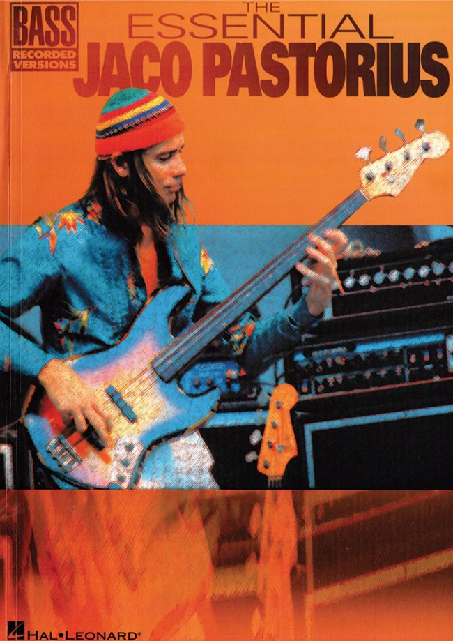 Front cover of The Essential Jaco Pastorius book