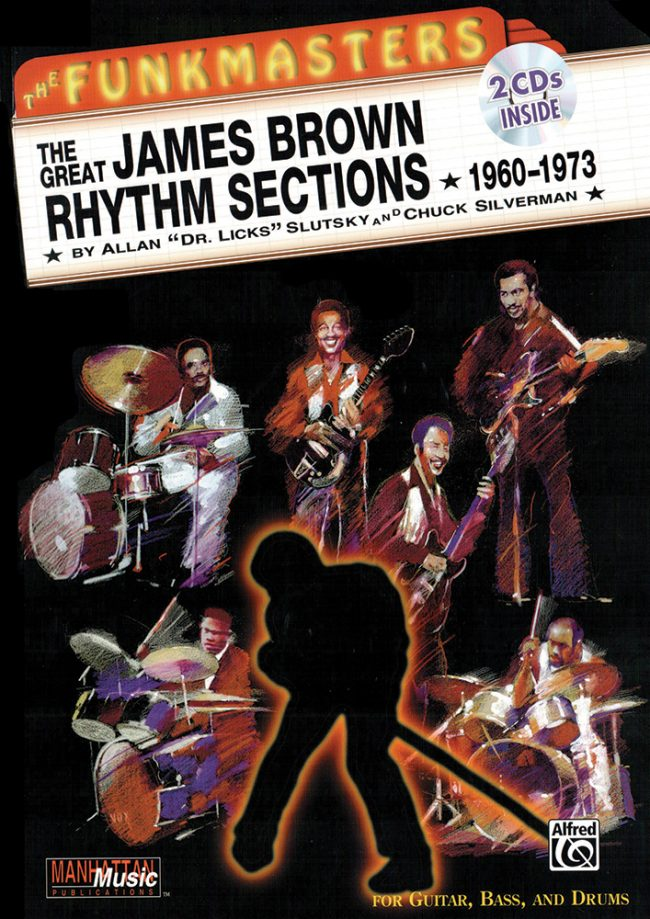Front cover of The Funkmasters - The Great James Brown Rhythm Sections book