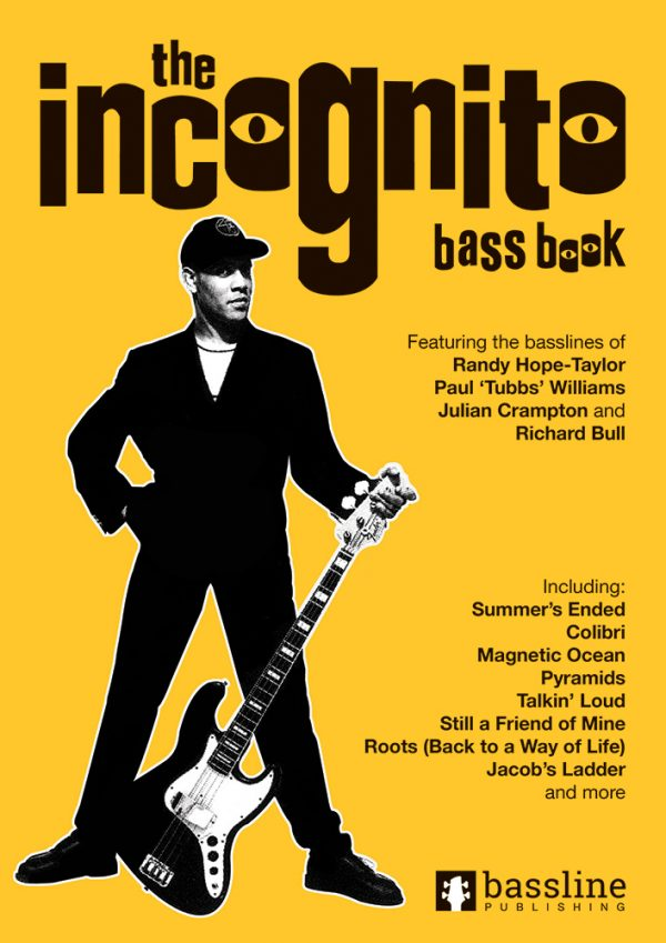Front cover of The Incognito Bass Book
