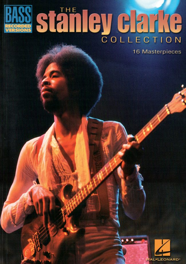 Front cover of The Stanley Clarke Collection bass transcriptions book