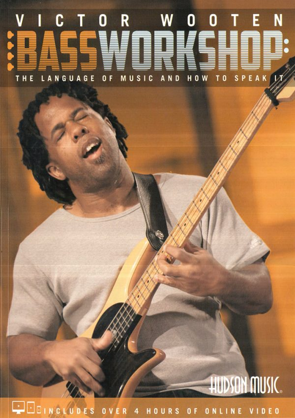 Front cover of Victor Wooten Bass Workshop book