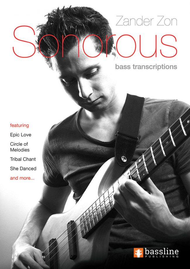 Front cover of Zander Zon - Sonorous Bass Transcriptions book