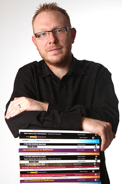 Bassline Publishing author and tutor Stuart Clayton