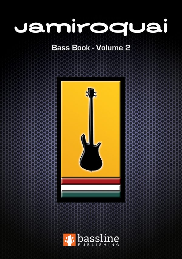 Front cover of The Jamiroquai Bass Book Volume 2