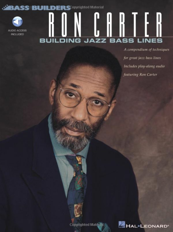 Front cover of Ron Carter: Building Jazz Basslines