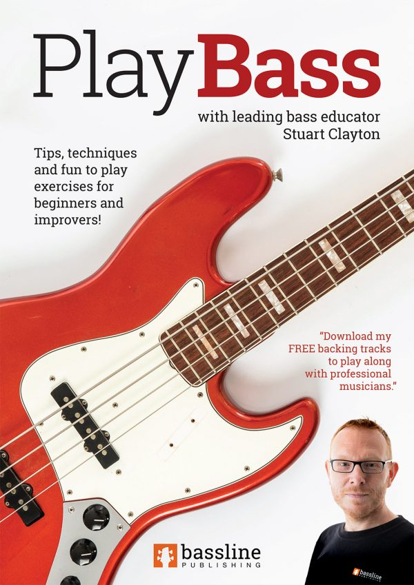 Front cover of Play Bass - For Beginners & Improvers