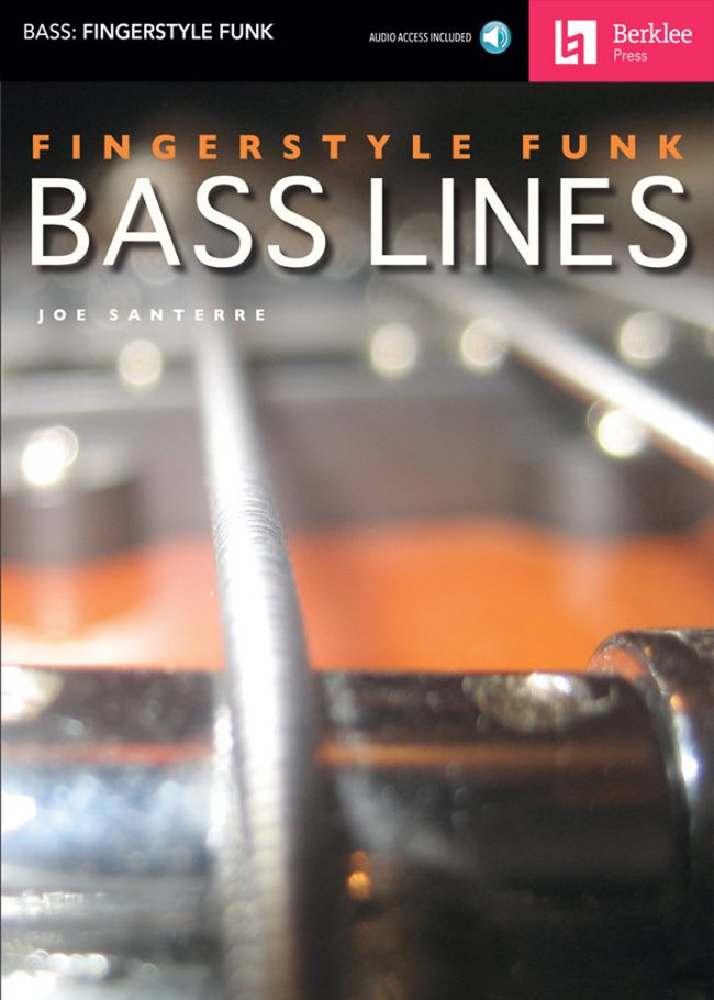 Front cover of Fingerstyle Funk Basslines