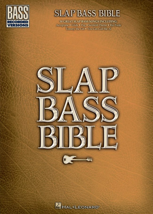 Front cover of Slap Bass Bible
