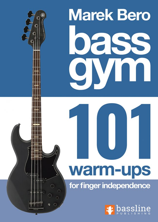 Front cover of Bass Gym - 101 Warm-ups for Finger Independence