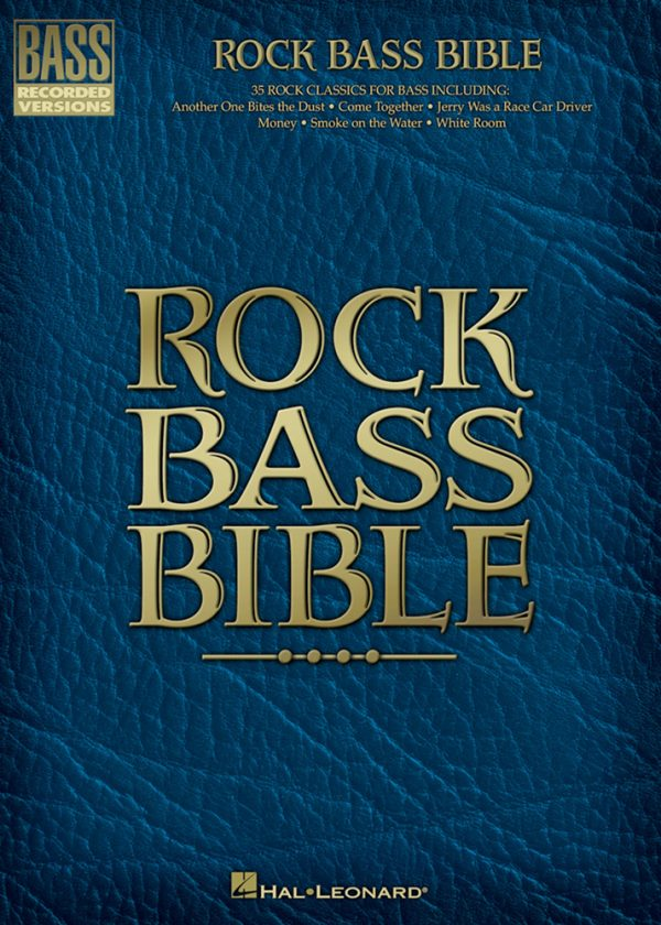 Front cover of Rock Bass Bible, Sample page from Rock Bass Bible
