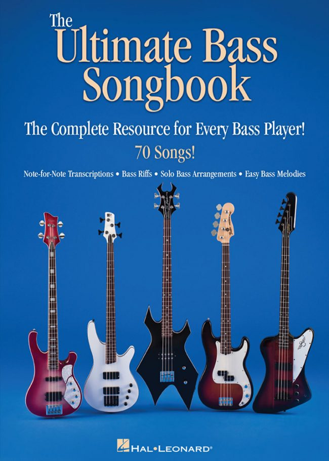 Front cover of Ultimate Bass Songbook