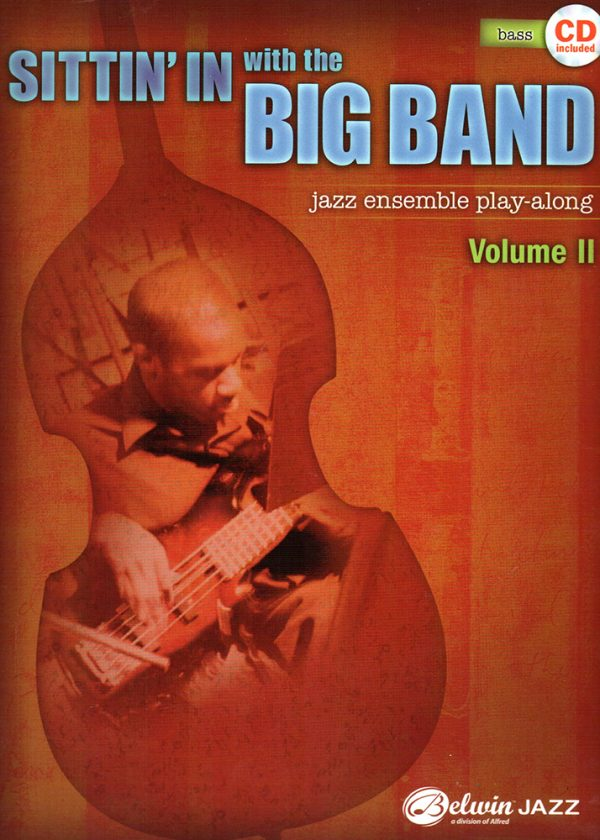 Front cover of Sittin' In with the Big Band - Vol. 2