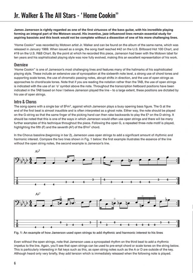 Bass Monsters - Sample Page 1