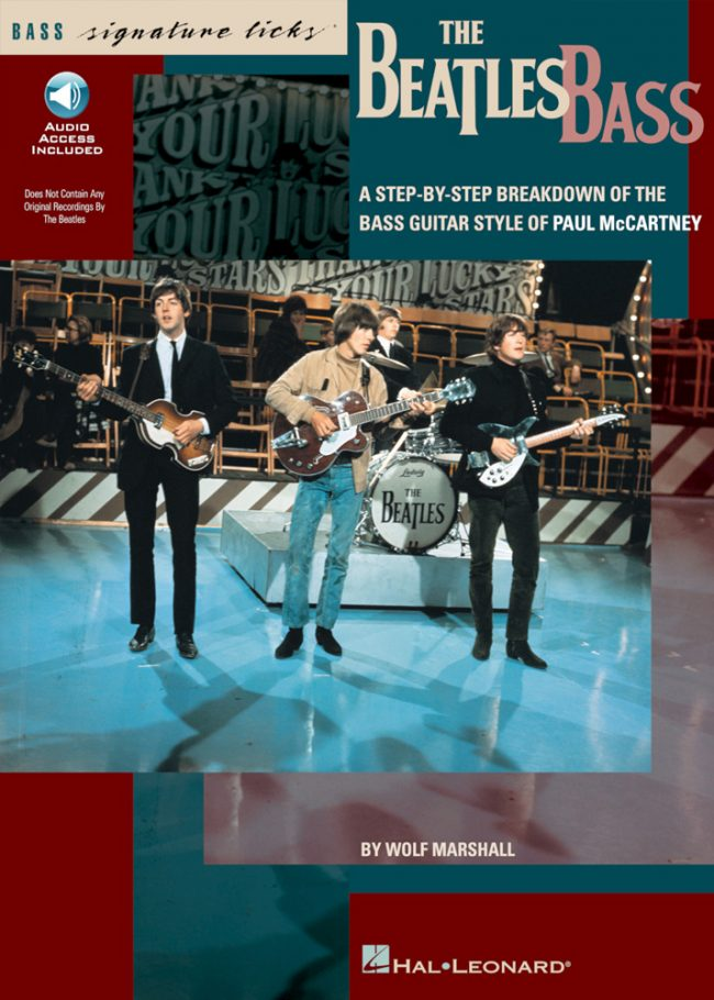 Front cover of The Beatles Signature Licks