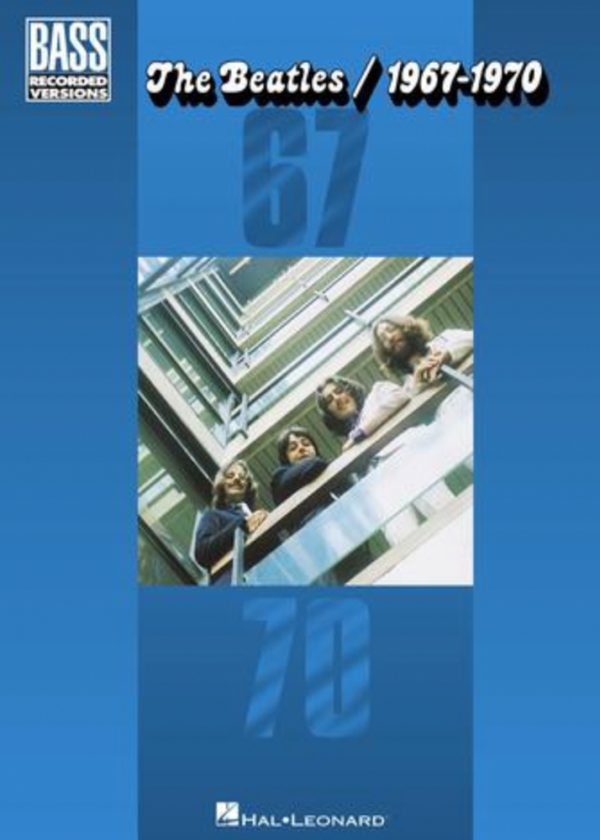 Front cover of The Beatles 1967-1970