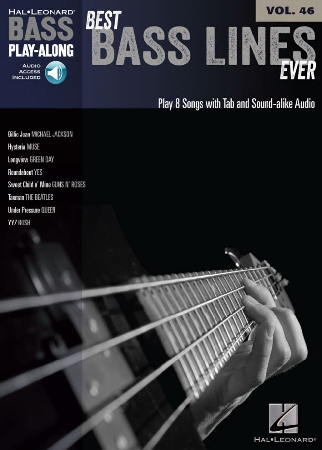 Front cover of Best Basslines Ever Play-Along