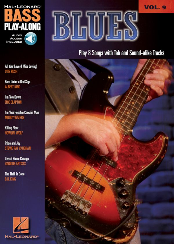 Front cover of Blues Play-Along