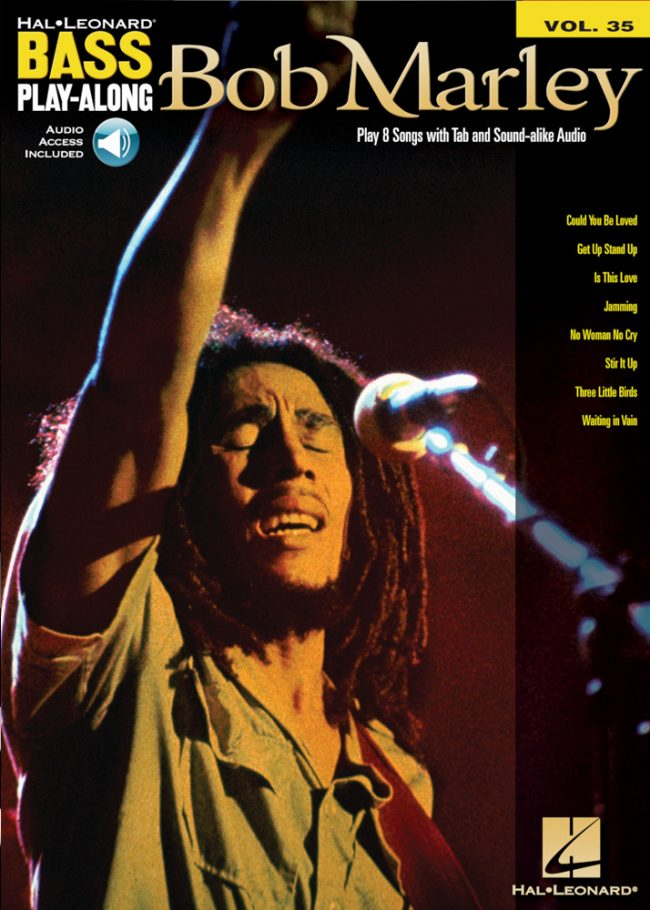 Front cover of Bob Marley Play-Along