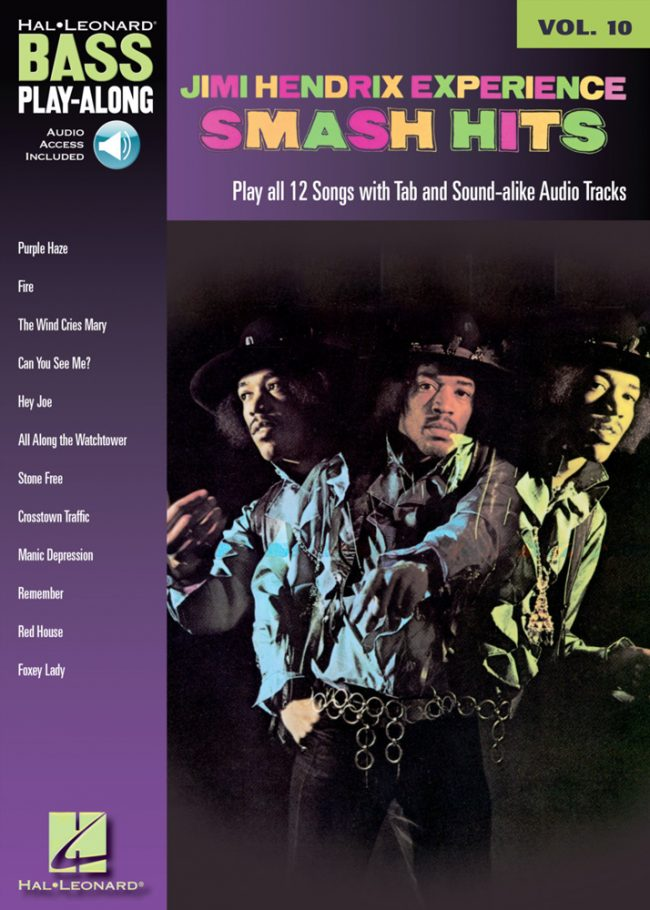 Front cover of Jimi Hendrix Play-Along