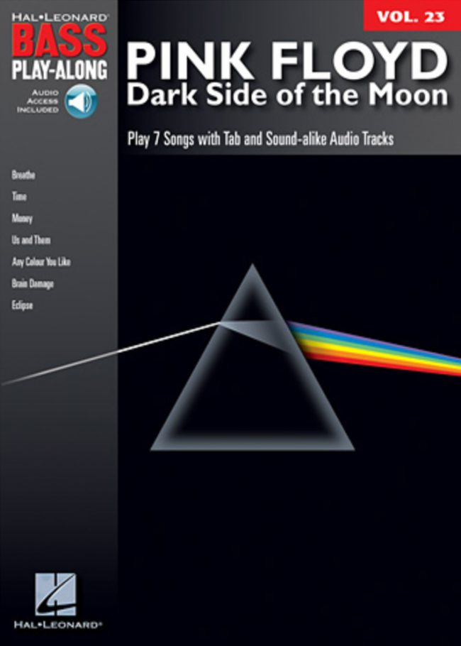 Front cover of Pink Floyd – Dark Side of the Moon Play-Along