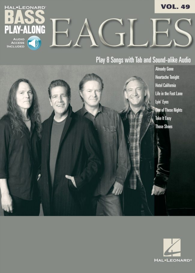 Front cover of The Eagles Play-Along