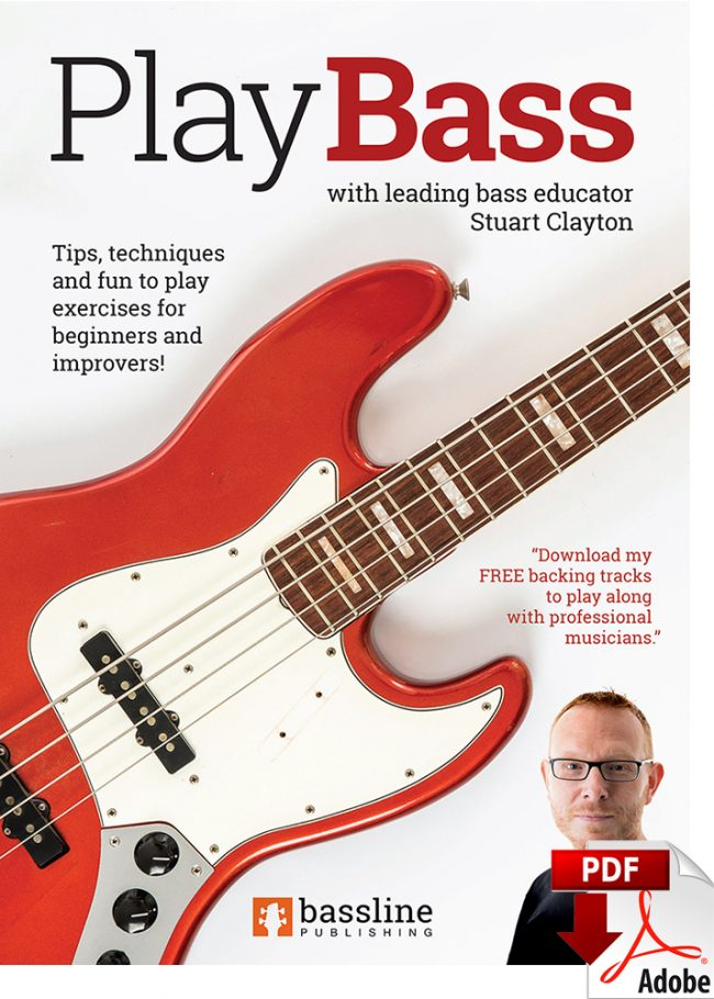Front cover of Play Bass