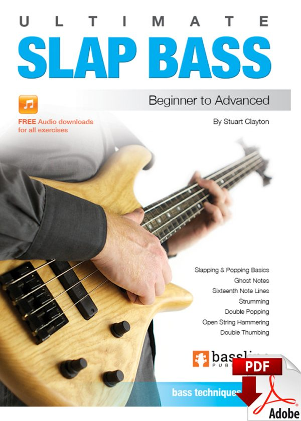 Front cover of Ultimate Slap Bass