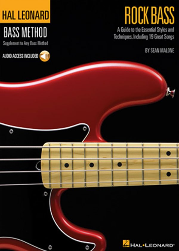 Front cover of Hal Leonard Bass Method – Rock Bass