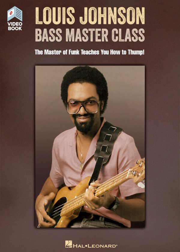 Front cover of Louis Johnson – Bass Master Class