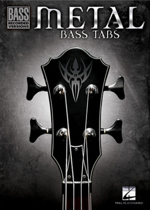 Front cover of Metal Bass Tabs