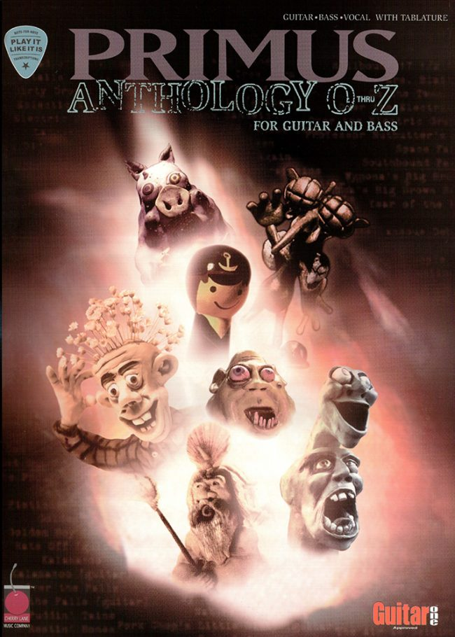 Front cover of Primus Anthology - O Thru Z - for Guitar & Bass