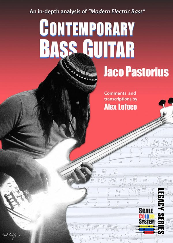 Front cover of Jaco Pastorius Contemporary Bass Guitar