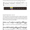 Sample page from Jaco Pastorius Contemporary Bass Guitar