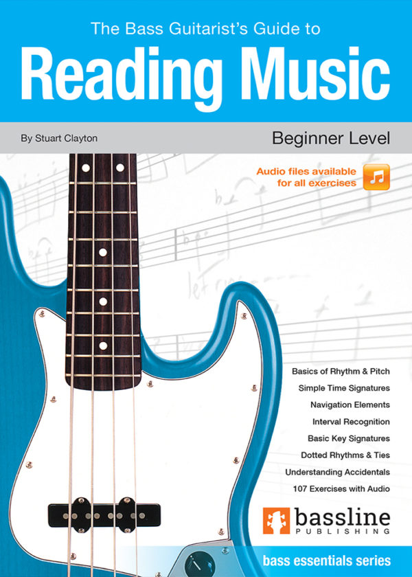 Front cover of The Bass Guitarist's Guide to Reading Music - Beginner Level
