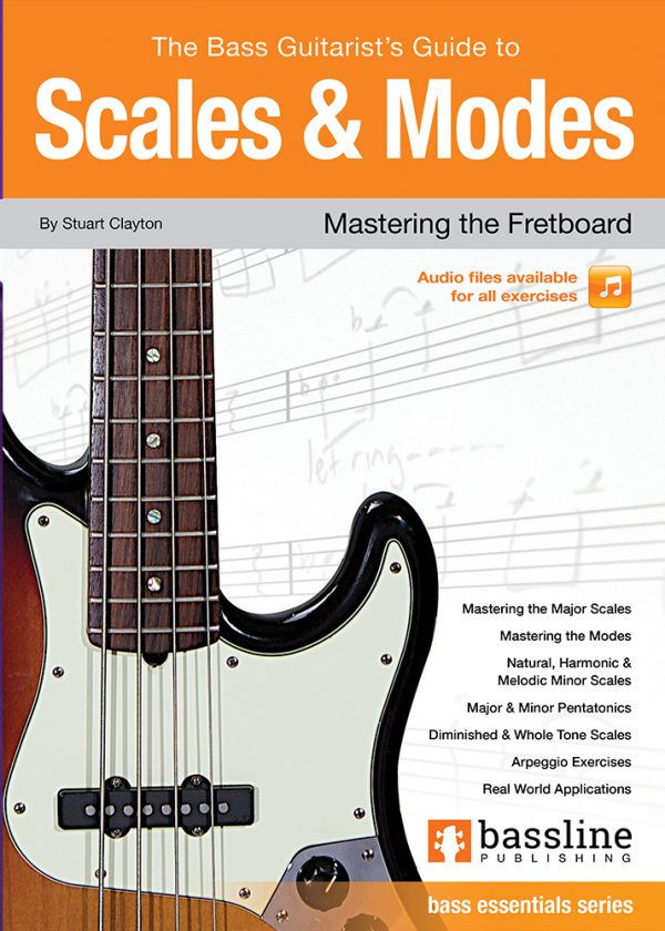 Front cover of The Bass Guitarist's Guide to Scales & Modes